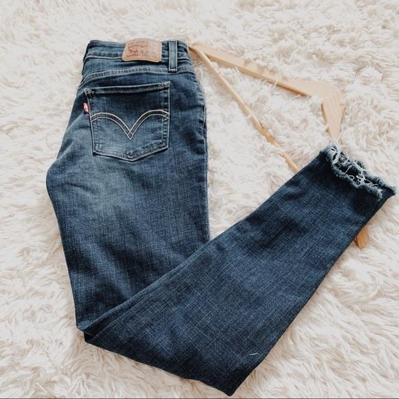 Levi's Denim - Levi's • 535 Super Skinny Distressed Jeans • 28